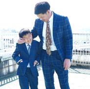 親子スーツ