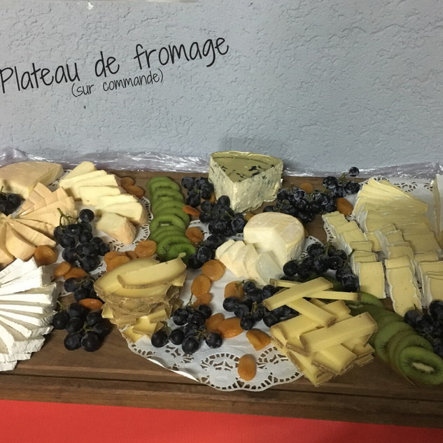 Plateau fromage