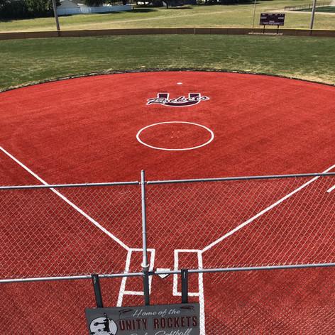 Unity High School Softball Field