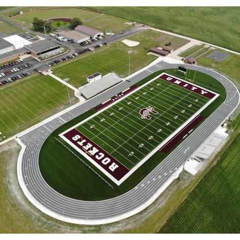 Unity High School Football Field