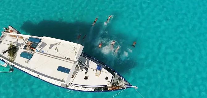 Swim Camp i Maldiverna