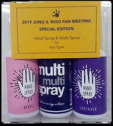JUNG IL WOO X day5gam 2 HAND Sprays & 1 ROOM Spray