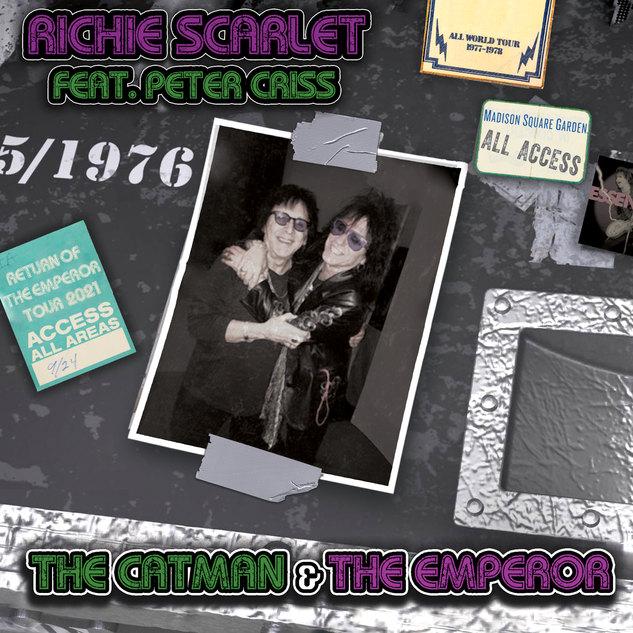 Richie Scarlett Feat. Peter Criss - The Catman & The Emperor