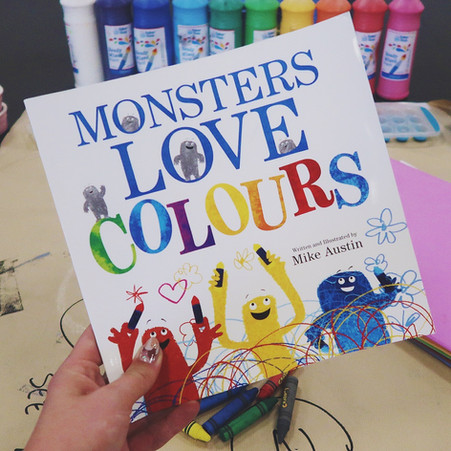 Messy Monsters | Arty Party Book Club