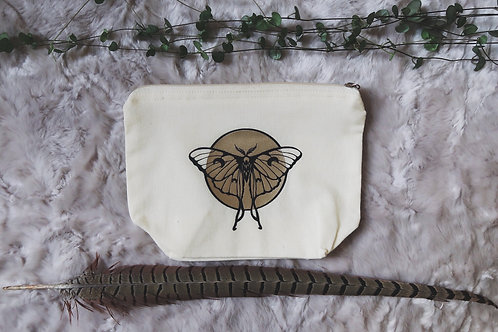Luna Moth Zip Pouch | medium