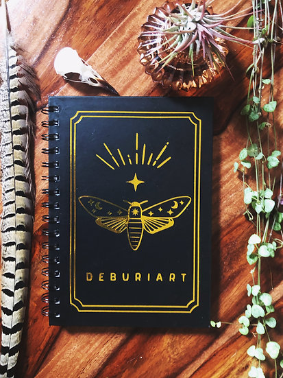 Personalised Tarot Notebook | A5 lined