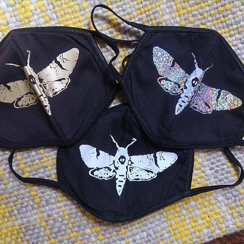 Death's Head Moth Face Mask | washable & reusable