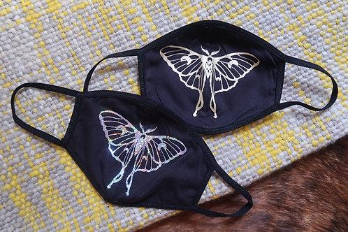 Luna Moth Face Mask | washable & reusable