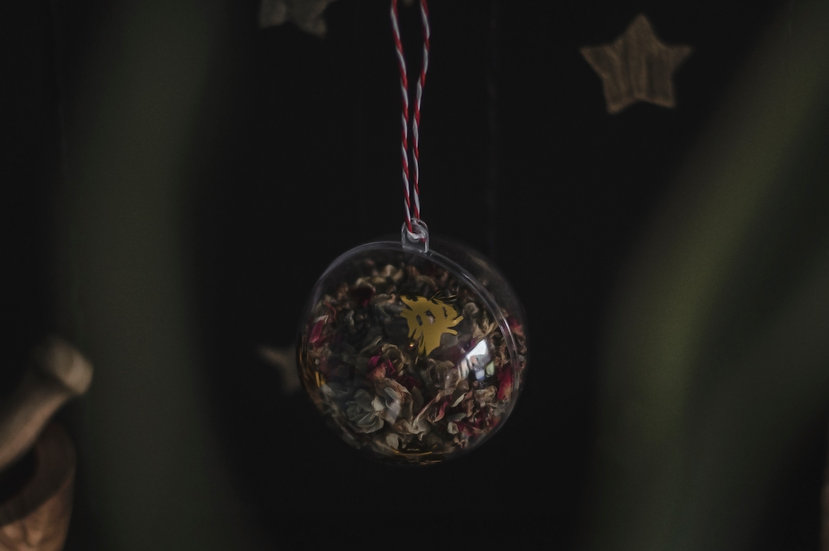 Imbolc Botanical Bauble | Moth to a Flame