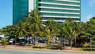 Fachada del Meridiano Hotel en Maceió