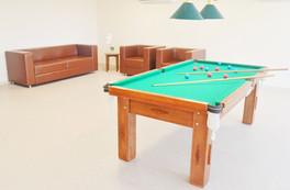 Sala de Juegos Meridiano Hotel en la orilla de Maceió