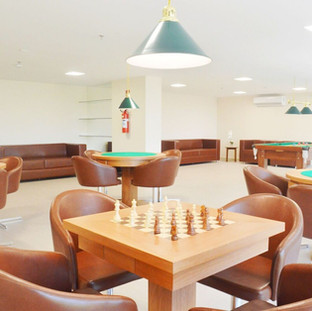 Sala de Juegos Meridiano Hotel en Maceió