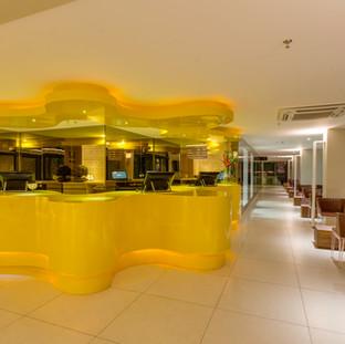 Lobby del Meridiano Hotel