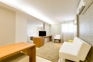 Suíte Luxo - Meridiano Hotel em Maceió