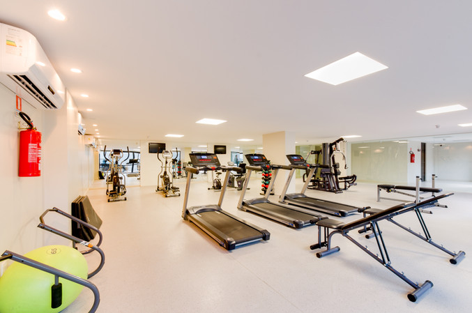 Fitness center equipped for your workouts