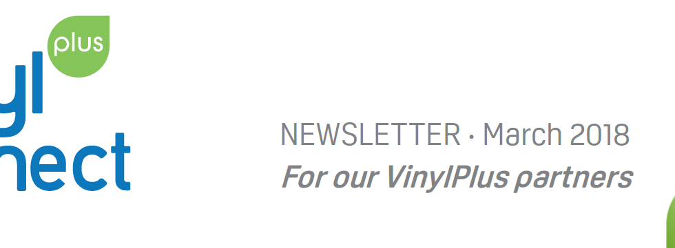 VinylPlus Connect Newsletter March 2018