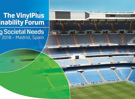 The VinylPlus Sustainability Forum 2018