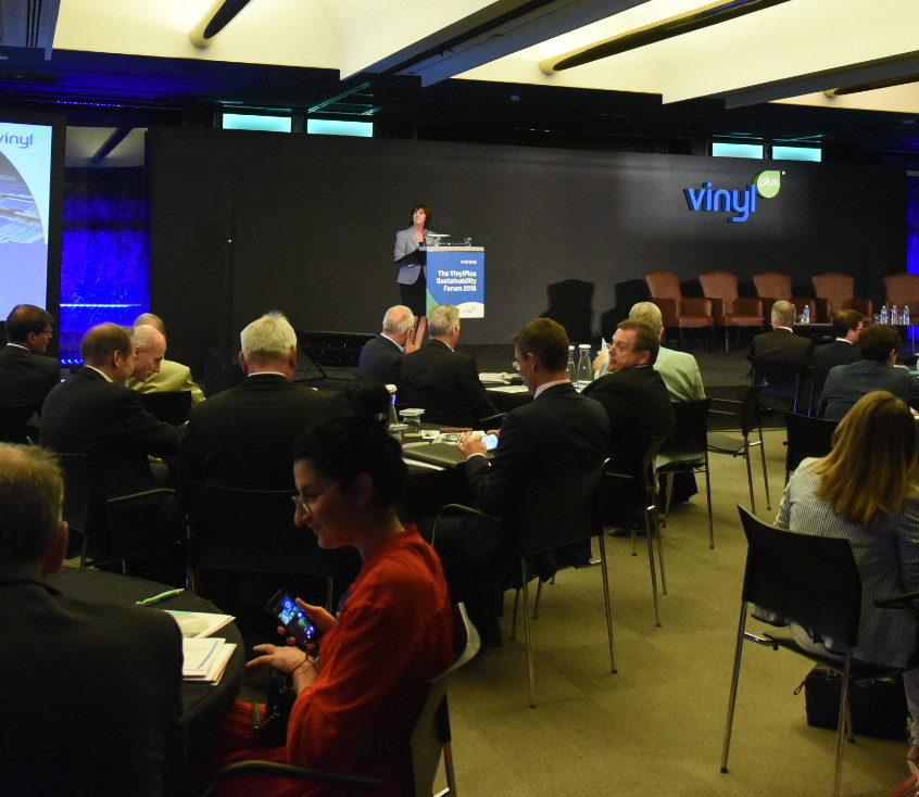 More than 140 delegates attended the VinylPlus Sustainability Forum 2018 in Madrid, Spain