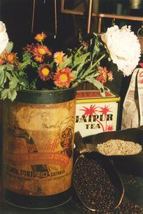 La magia della tostatura dei chicchi di caffé crudi