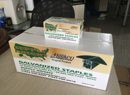 Twist & Lock Galvanized Staples