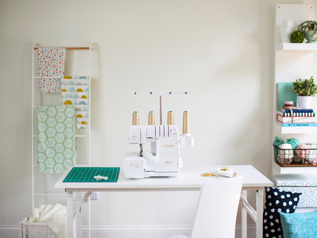 Wipe Your Creative Slate Clean — and Organize Your Sewing Room — for New Projects