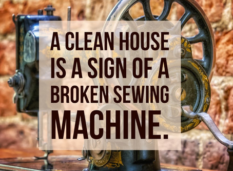 Break a Needle? Smile at a Sewing Quote