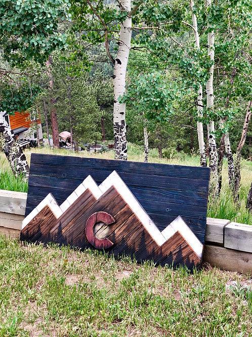 Colorado Pride with Tree Line