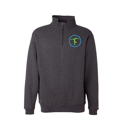 Men's Quarter Zip Pull-Over-Gymnastics