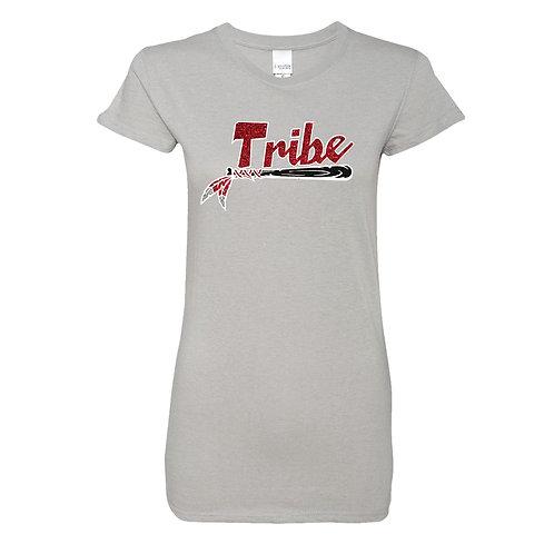 Women's (Glitter Woven Fabric) T-Shirt