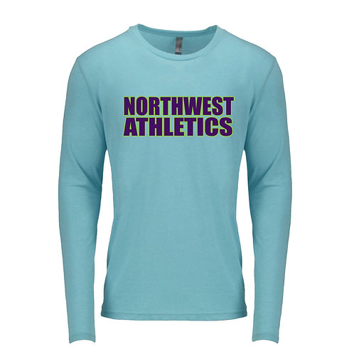 Tri-Blend Long Sleeve Crew