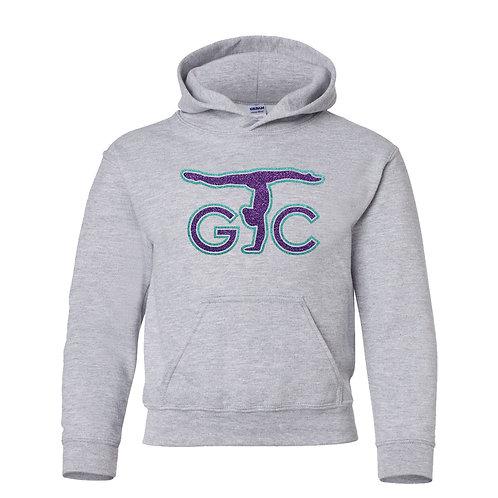 Youth Gildan 50/50 Oxford Hoodie (Purple/Teal)