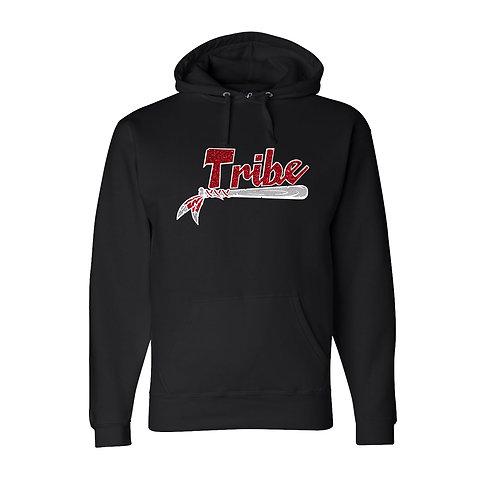 Black Premium Hooded Sweatshirt -Glitter