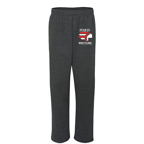 Gildan Heavy Blend Open Bottom Sweat Pants