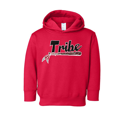Red Toddler Hoodie - Glitter