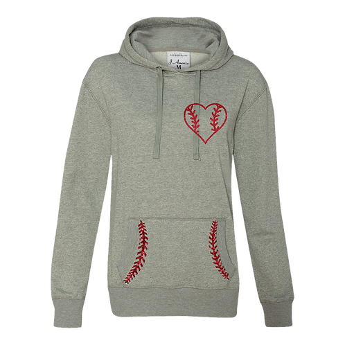 Women's (Glitter Woven Fabric) Hooded Sweatshirt