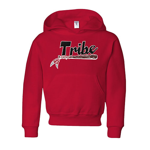 Red Youth Hoodie -Glitter