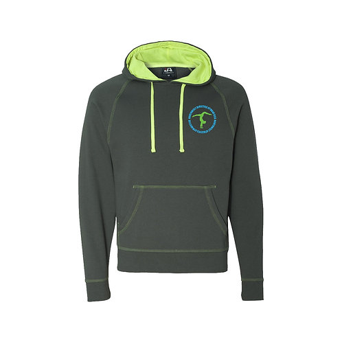 Men's Shadow Fleece Sweatshirt-Gymnastics