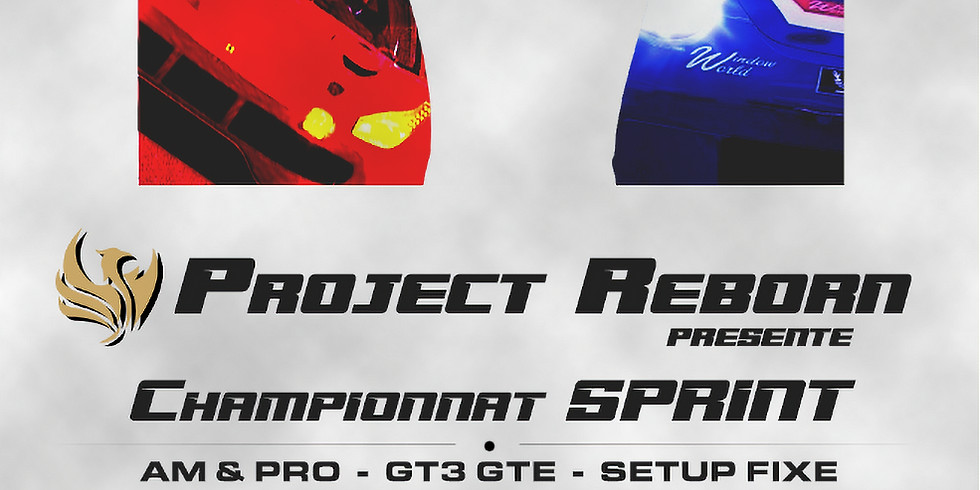 CHAMPIONNAT SPRINT AM/PRO GT3/GTE
