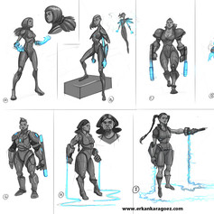 exploration sketches