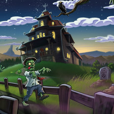 Zombie Solitair ingame illustration