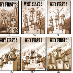 why first cover sketches
