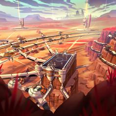 Mars arena concept