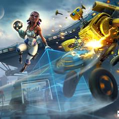 Steel circus key artwork