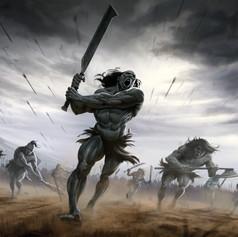 Orc Warrior Illustration