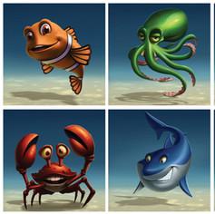 Atlantic Quest character design