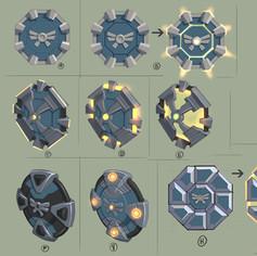 Hildegard shield concepts