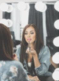 Edmonton makeup artist Starrly Gladue