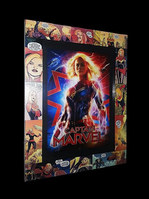 Captain Marvel Frame