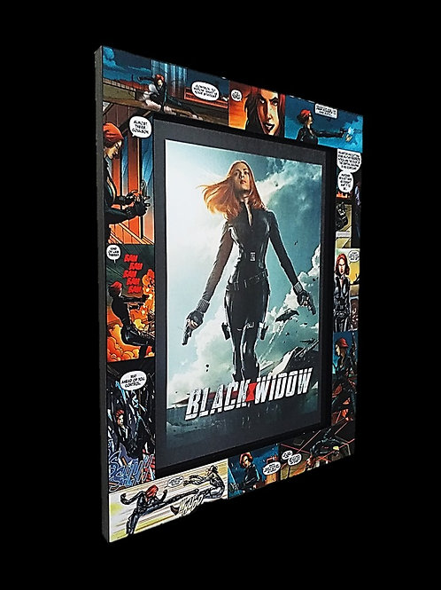 Black Widow Frame