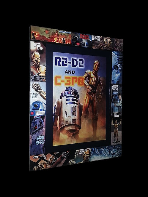 R2-D2 and C-3PO Frame